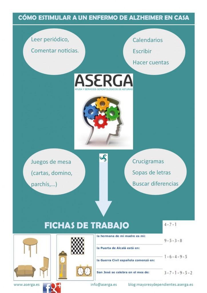 Estimulación cognitiva, ejercicios para el alzheimer, estimular personas mayores, ejercicios para la memoria y atención