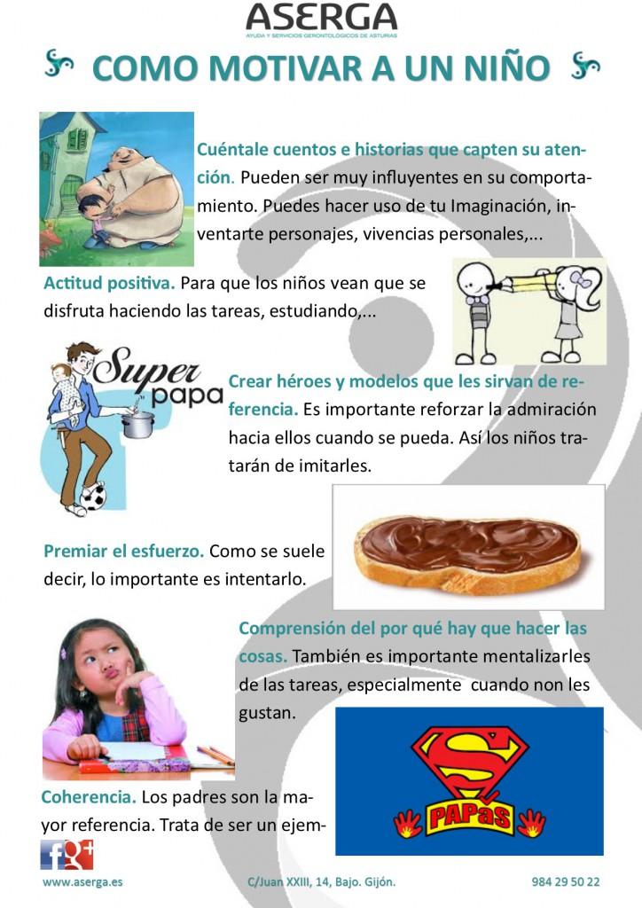 Consejos para motivar a los niños,motivación infantil